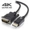 A small tile product image of ALOGIC ACTIVE 2m DisplayPort to DVI-D Cable with 4K Support - Male to Male