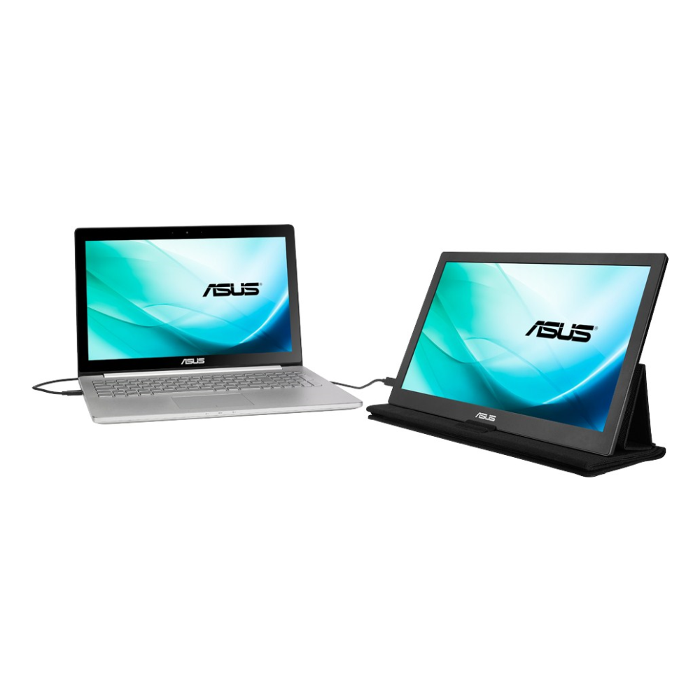 """A large main feature product image of ASUS MB169C+ 15.6"""" Full HD USB-C IPS LED Monitor"""