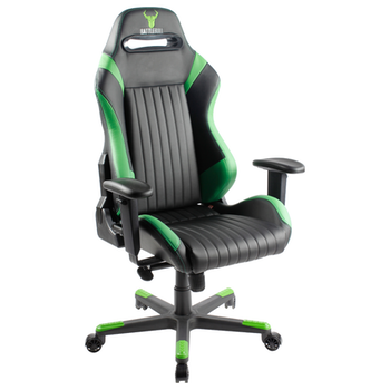 Product image of BattleBull Covert Gaming Chair Black/Green - Click for product page of BattleBull Covert Gaming Chair Black/Green