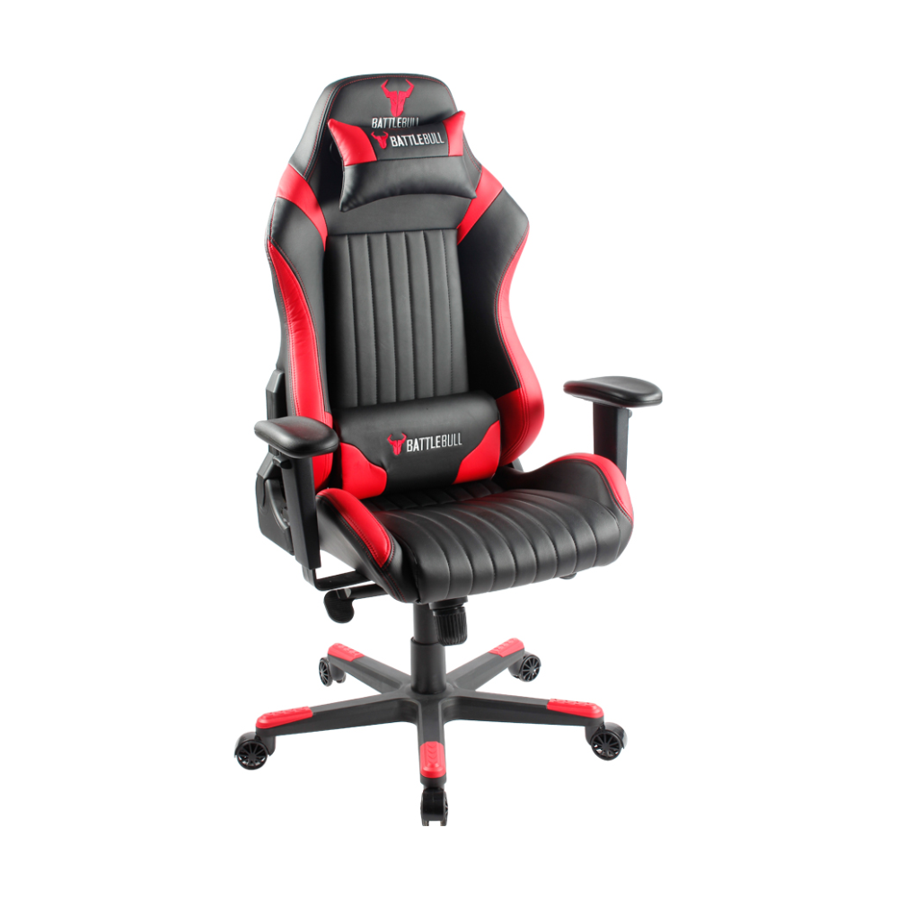 A large main feature product image of BattleBull Covert Gaming Chair Black/Red
