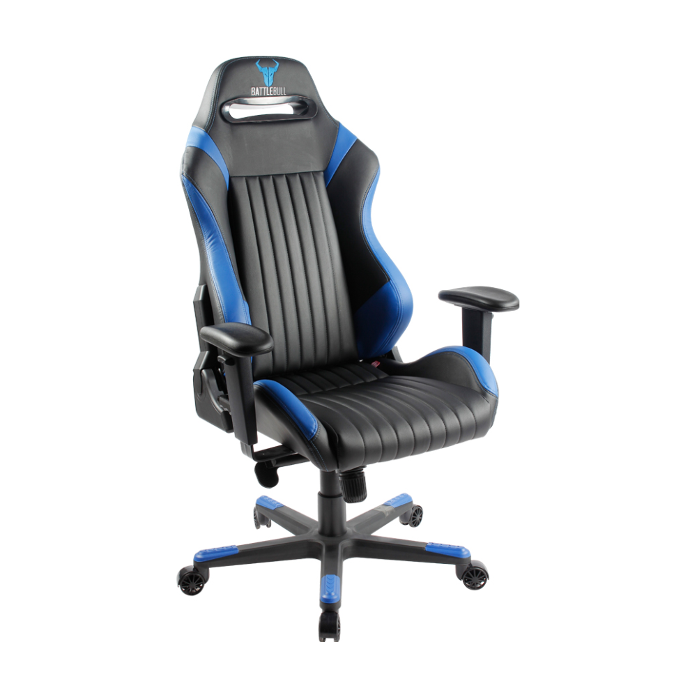 A large main feature product image of BattleBull Covert Gaming Chair Black/Blue