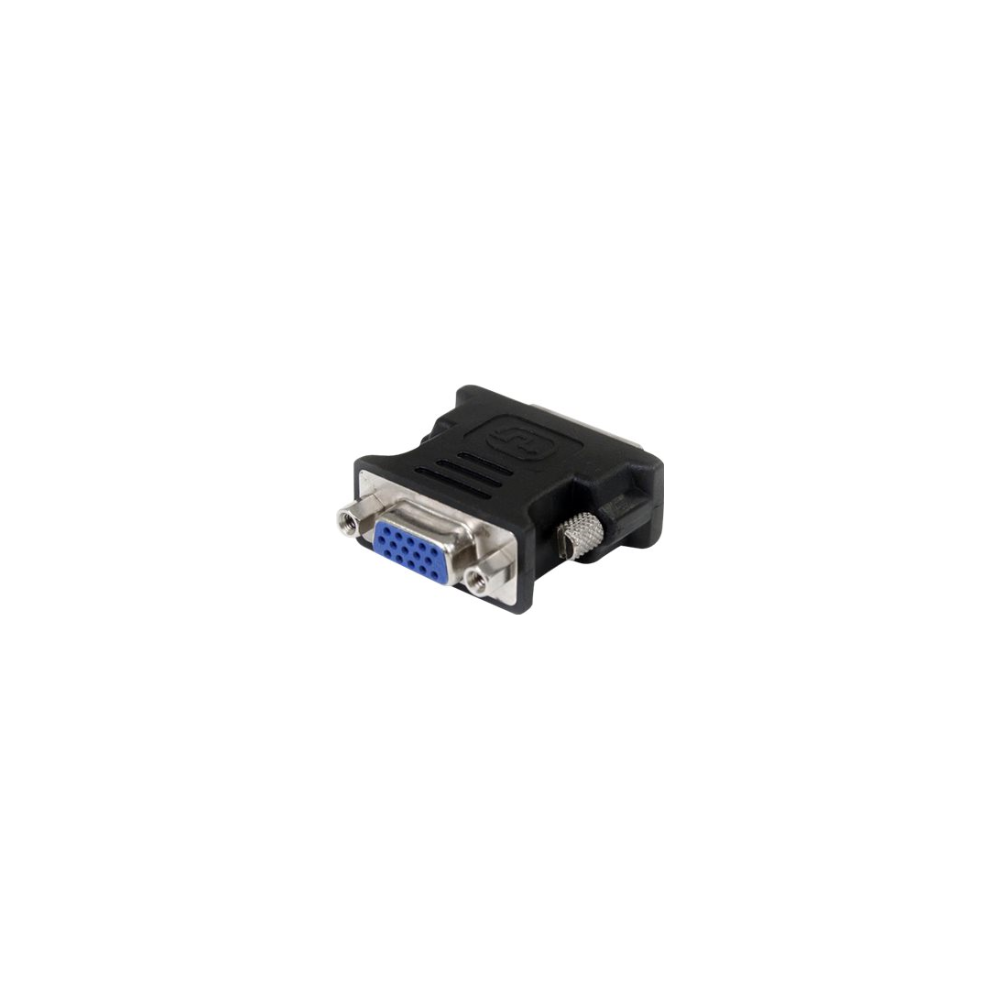A large main feature product image of Startech DVI to VGA Cable Adapter - Black - M/F