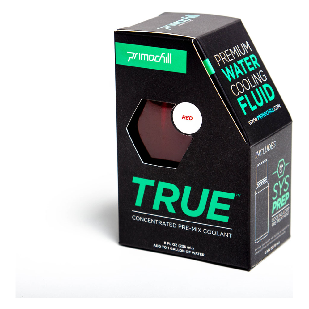 A large main feature product image of PrimoChill True Infused – Insanely Concentrated Liquid Pre-Mix– Red