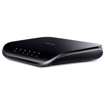 Product image of TP-LINK SG1005D 5 Port Unmanaged Gigabit Ethernet Switch - Click for product page of TP-LINK SG1005D 5 Port Unmanaged Gigabit Ethernet Switch