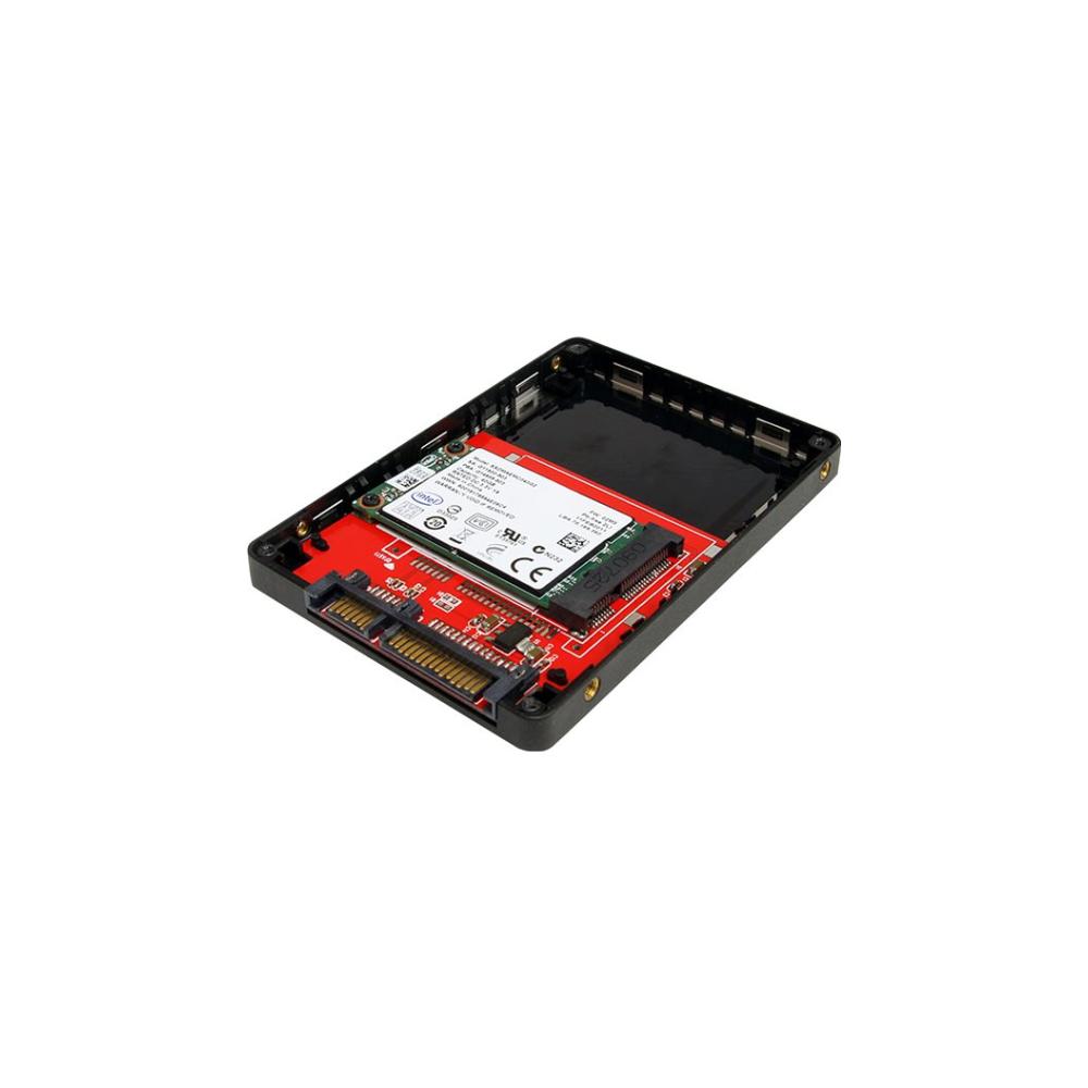 "A large main feature product image of Startech 2.5"" SATA to Mini SATA Adapter Enclosure"