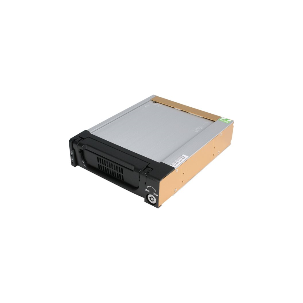 A large main feature product image of Startech 5.25in Rugged SATA HDD Mobile Rack Drawer