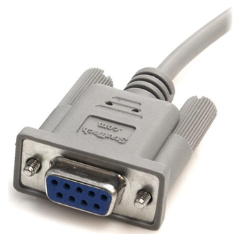 Product image of Startech 10ft DB9 RS232 Serial Null Modem Cable F/F - Click for product page of Startech 10ft DB9 RS232 Serial Null Modem Cable F/F