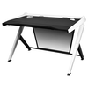 A product image of DXRacer 1000 Series Gaming Desk - Black & White