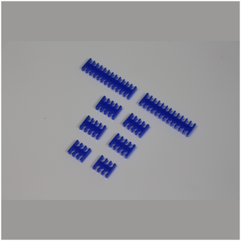 Product image of GamerChief Cable Comb Set - Blue - Click for product page of GamerChief Cable Comb Set - Blue