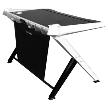 Product image of DXRacer 1000 Series Gaming Desk - Black & White - Click for product page of DXRacer 1000 Series Gaming Desk - Black & White
