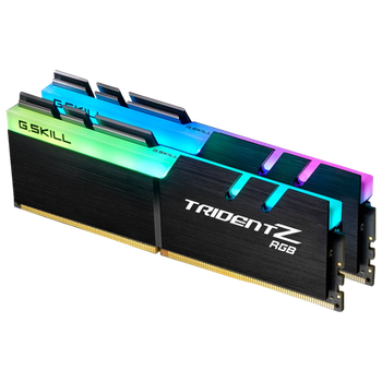 Product image of G.Skill 16GB Kit (2x8GB) DDR4 Trident Z RGB 2400MHz C15 - Click for product page of G.Skill 16GB Kit (2x8GB) DDR4 Trident Z RGB 2400MHz C15