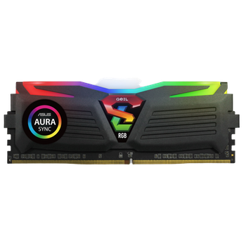 Product image of GeIL 16GB Kit (2x8GB) DDR4 SUPER LUCE RGB SYNC C16 3000MHz - Click for product page of GeIL 16GB Kit (2x8GB) DDR4 SUPER LUCE RGB SYNC C16 3000MHz