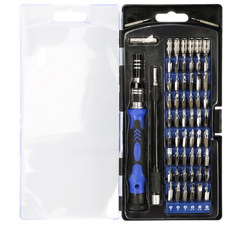 Product image of King'sdun 86 in 1 CRV Steel Magnetic Driver Precision Screwdriver Set - Click for product page of King'sdun 86 in 1 CRV Steel Magnetic Driver Precision Screwdriver Set