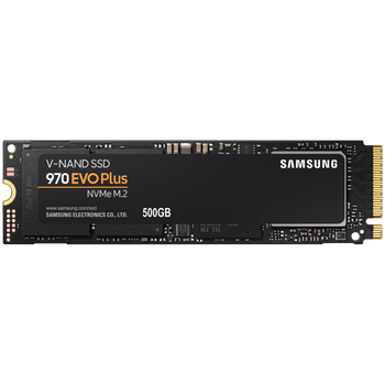 Product image of Samsung 970 EVO Plus 500GB M.2 NVMe SSD - Click for product page of Samsung 970 EVO Plus 500GB M.2 NVMe SSD