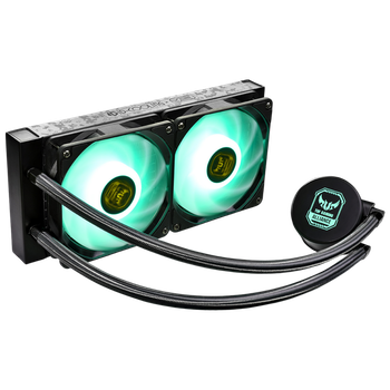 Product image of ID-COOLING AuraFlow X TUF Gaming Alliance 240 RGB AIO CPU Liquid Cooler - Click for product page of ID-COOLING AuraFlow X TUF Gaming Alliance 240 RGB AIO CPU Liquid Cooler