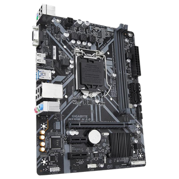 Product image of Gigabyte H310M H 2.0 LGA1151-CL ATX Desktop Motherboard - Click for product page of Gigabyte H310M H 2.0 LGA1151-CL ATX Desktop Motherboard