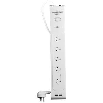 Product image of Power Shield ZapGuard 5 Way Surge Board with Quick USB Charging - Click for product page of Power Shield ZapGuard 5 Way Surge Board with Quick USB Charging