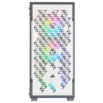 Product image of Corsair iCue 220T RGB White Smart Mid Tower Case - Click for product page of Corsair iCue 220T RGB White Smart Mid Tower Case