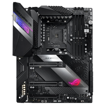 Product image of ASUS ROG Crosshair VIII Hero WiFi AM4 ATX Desktop Motherboard - Click for product page of ASUS ROG Crosshair VIII Hero WiFi AM4 ATX Desktop Motherboard