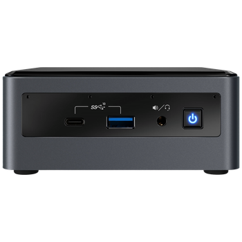 """Product image of Intel NUC Gen10 Frost Canyon i3 Barebones Mini PC w/ 2.5"""" Bay - Click for product page of Intel NUC Gen10 Frost Canyon i3 Barebones Mini PC w/ 2.5"""" Bay"""
