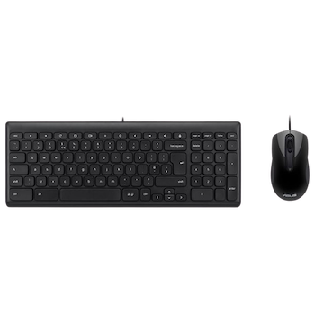 Product image of ASUS Chrome Wired Keyboard & Mouse Kit - Click for product page of ASUS Chrome Wired Keyboard & Mouse Kit