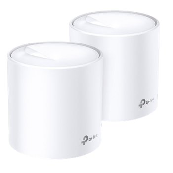 Product image of TP-LINK Deco X20 Wireless-AX1800 WiFi 6 Mesh Router - 2 Pack - Click for product page of TP-LINK Deco X20 Wireless-AX1800 WiFi 6 Mesh Router - 2 Pack