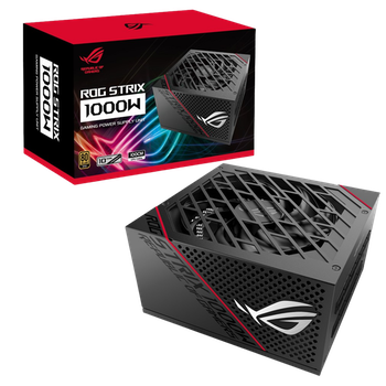 Product image of ASUS ROG Strix 1000W 80PLUS Gold Modular Power Supply - Click for product page of ASUS ROG Strix 1000W 80PLUS Gold Modular Power Supply
