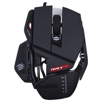 Product image of Mad Catz R.A.T. 4+ Gaming Mouse Black - Click for product page of Mad Catz R.A.T. 4+ Gaming Mouse Black