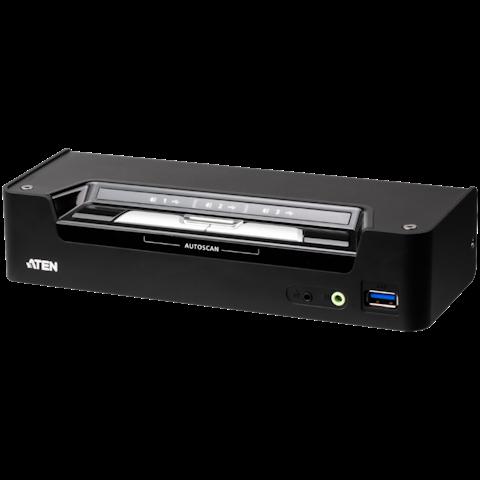 ATEN 3-Port USB-C DisplayPort Hybrid KVMP Switch