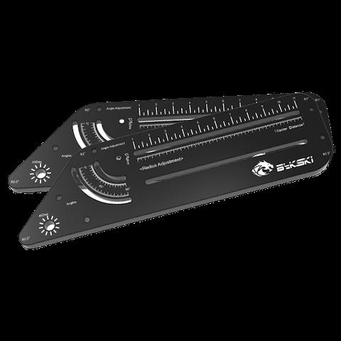 Bykski Multi Function Tube Bending Tool - Black