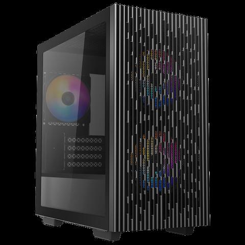 Deepcool Matrexx 40 3FS Black mATX Mid Tower Case w/ Tempered Glass Side Panel