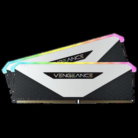 Corsair 16GB (2x8GB) DDR4 Vengeance RGB RT White 3200Mhz C16